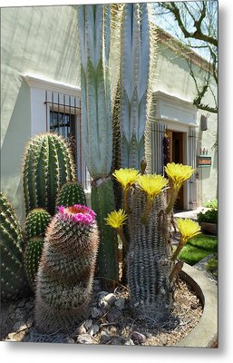 Old Town Scottsdale Color Metal Print by Gordon Beck