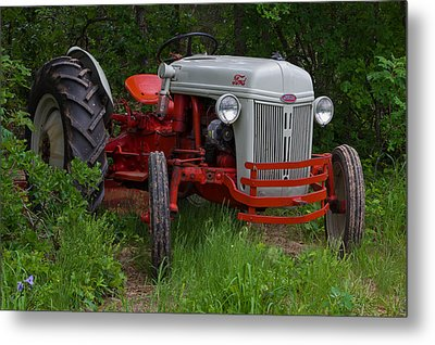 Old Tractor Metal Print by Doug Long