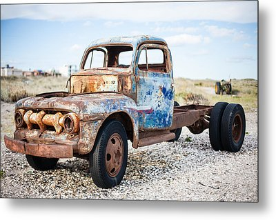 Metal Print featuring the photograph Old Truck by Silvia Bruno