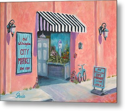 Old Wilmington City Market  Metal Print