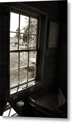 Metal Print featuring the photograph Old Window by Joanne Coyle