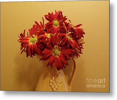 Old World Bouquet Metal Print by Marsha Heiken