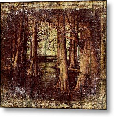 Old World Reelfoot Lake Metal Print by Julie Dant