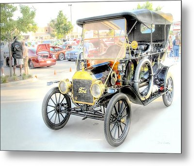 Metal Print featuring the photograph Oldie But Goodie by Dyle   Warren