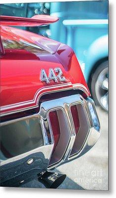 Olds 442 Classic Car Metal Print by Mike Reid