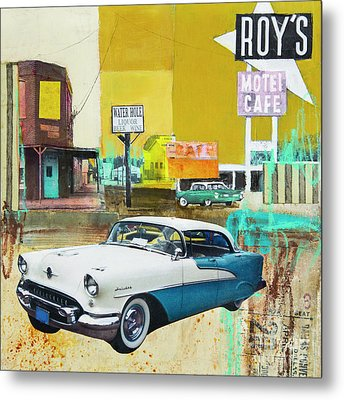 Oldsmobile Metal Print by Elena Nosyreva
