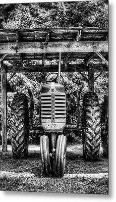 Oliver Tractor Metal Print
