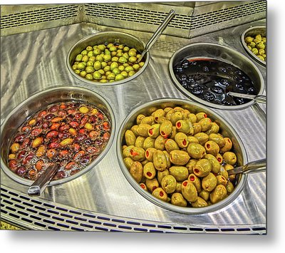 Olives Metal Print by Bruce Iorio