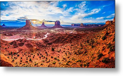 Oljato-monument Valley Metal Print