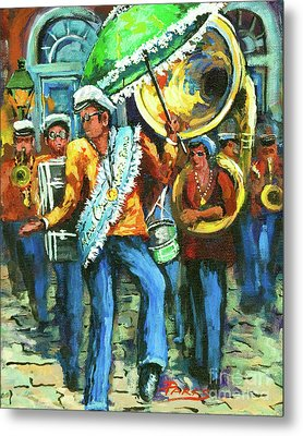 Olympia Brass Band Metal Print by Dianne Parks