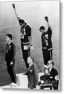 Olympic Games, 1968 Metal Print