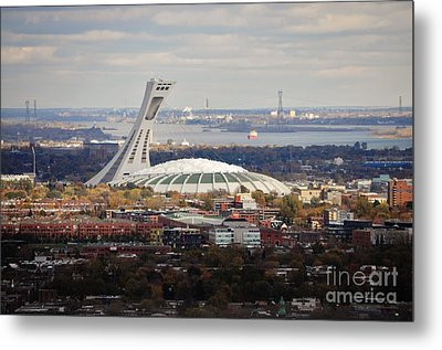 Olympic Stadium  Metal Print by Reb Frost