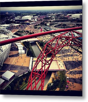 #olympics #orbit #london #london2012 Metal Print
