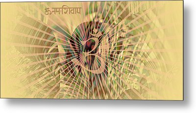 Metal Print featuring the photograph Om Enigma by Robert G Kernodle