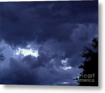 Metal Print featuring the photograph Ominous Clouds by Terri Mills