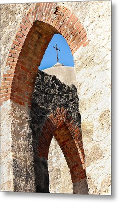 Metal Print featuring the photograph On A Mission by Debbie Karnes