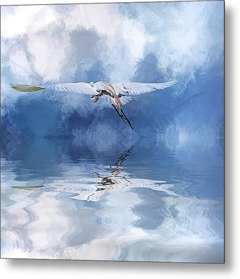 On A Wing And A Prayer Metal Print by Cyndy Doty