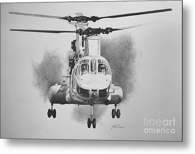 On Approach Metal Print by Stephen Roberson