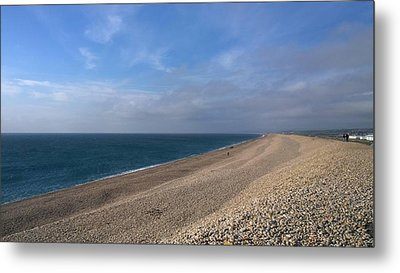 On Chesil Beach Metal Print