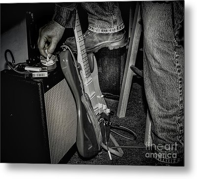 Metal Print featuring the photograph On In Two Minutes by Robert Frederick