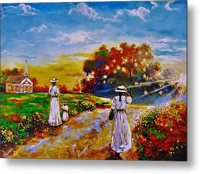 On My Way Home Metal Print by Emery Franklin