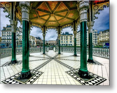 Metal Print featuring the photograph On The Bandstand by Chris Lord