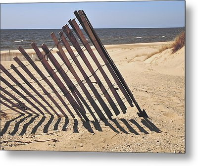On The Beach Metal Print by Odd Jeppesen