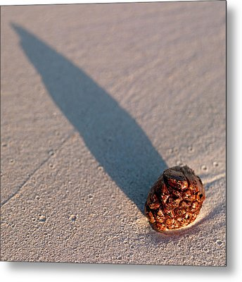 Metal Print featuring the photograph On The Beach by Odille Esmonde-Morgan