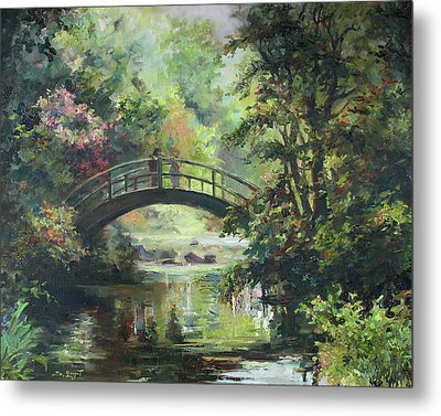 On The Bridge Metal Print by Tigran Ghulyan