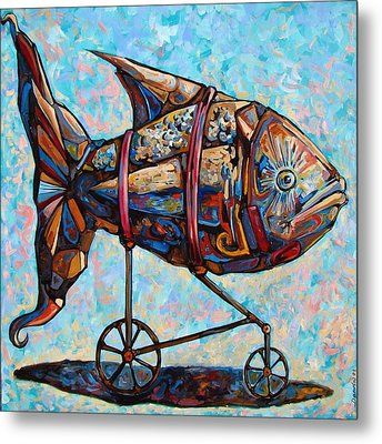 On The Conquer For Land Metal Print