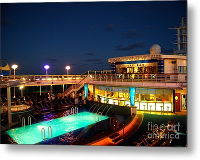 On The Cruise Metal Print by Cesar Marino
