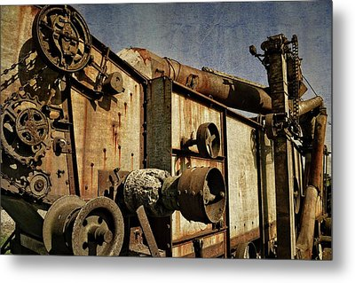 Metal Print featuring the photograph On The Farm 2.0 by Michelle Calkins