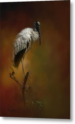 On The Fork Metal Print by Marvin Spates