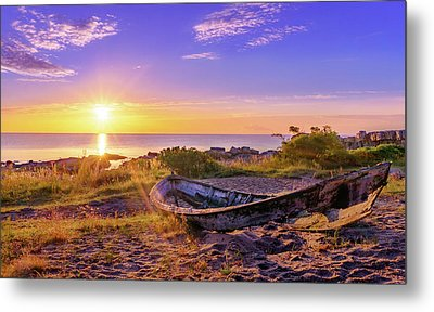 Metal Print featuring the photograph On The Last Shore by Dmytro Korol
