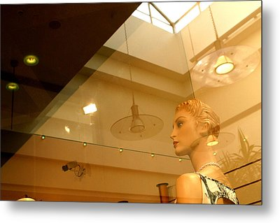 On The Mend Maggie Metal Print by Jez C Self