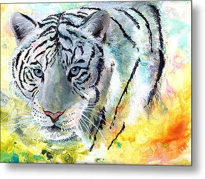 On The Prowl Metal Print by Sherry Shipley