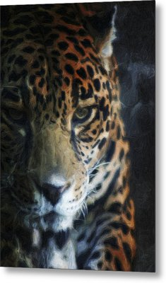 On The Prowl Metal Print by Trish Tritz