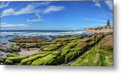 Metal Print featuring the photograph On The Rocky Coast by Peter Tellone
