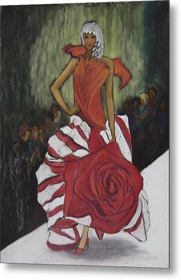 On The Runway Metal Print by Annette Kagy