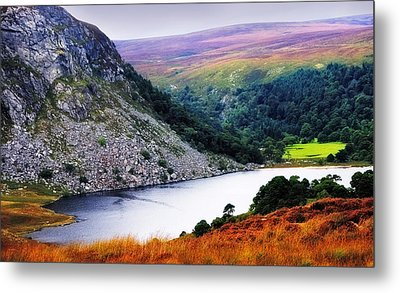 On The Shore Of Lough Tay. Wicklow. Ireland Metal Print