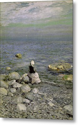 On The Shore Of The Black Sea Metal Print