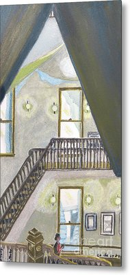 On The Up And Up Metal Print by Cora Morley Eklund