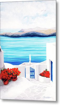 On The Way - Prints From My Original Oil Paintngs Metal Print