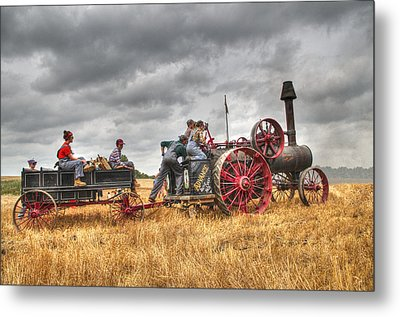 On The Way Metal Print by Shelly Gunderson