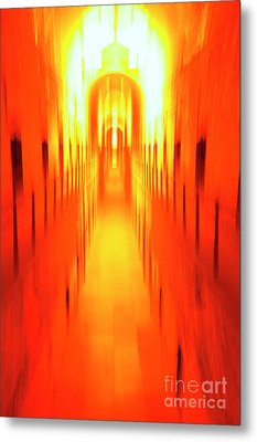 Metal Print featuring the photograph On The Way To Death Row by Paul W Faust - Impressions of Light