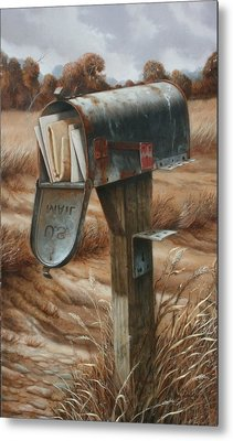 On Vacation Metal Print by William Albanese Sr