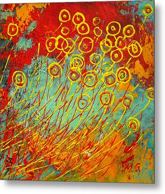 On Windy Day Metal Print