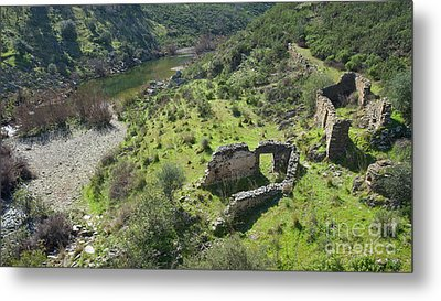 Once Upon A Time A Creek Home Metal Print by Angelo DeVal