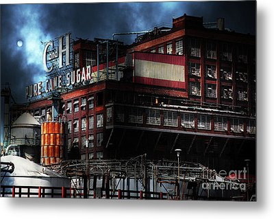 Once Upon A Time In The Sleepy Town Of Crockett California . 5d16760 Metal Print by Wingsdomain Art and Photography