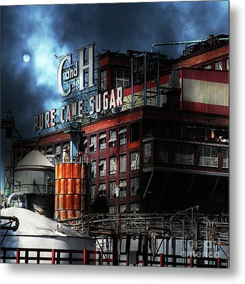 Once Upon A Time In The Sleepy Town Of Crockett California - 5d16760 Square Metal Print